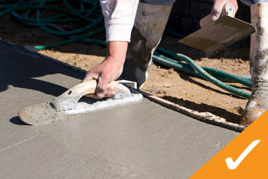 concrete repair and concrete work