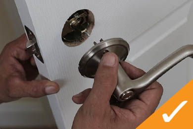 Lockset Installation